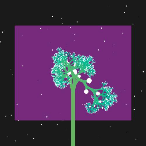 Space Tree Art