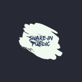 Share In Public Newsletter