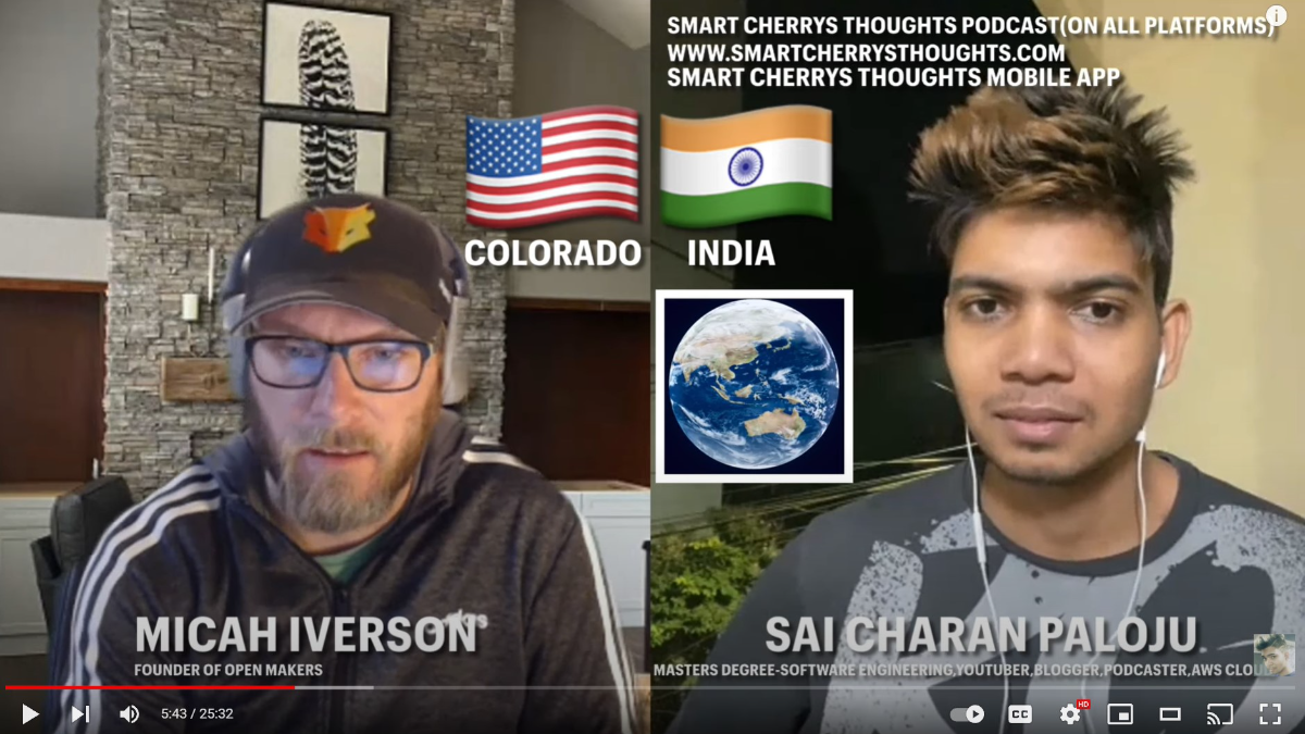 Open Makers Interview with Smart Cherry : Open Makers : MicahIverson