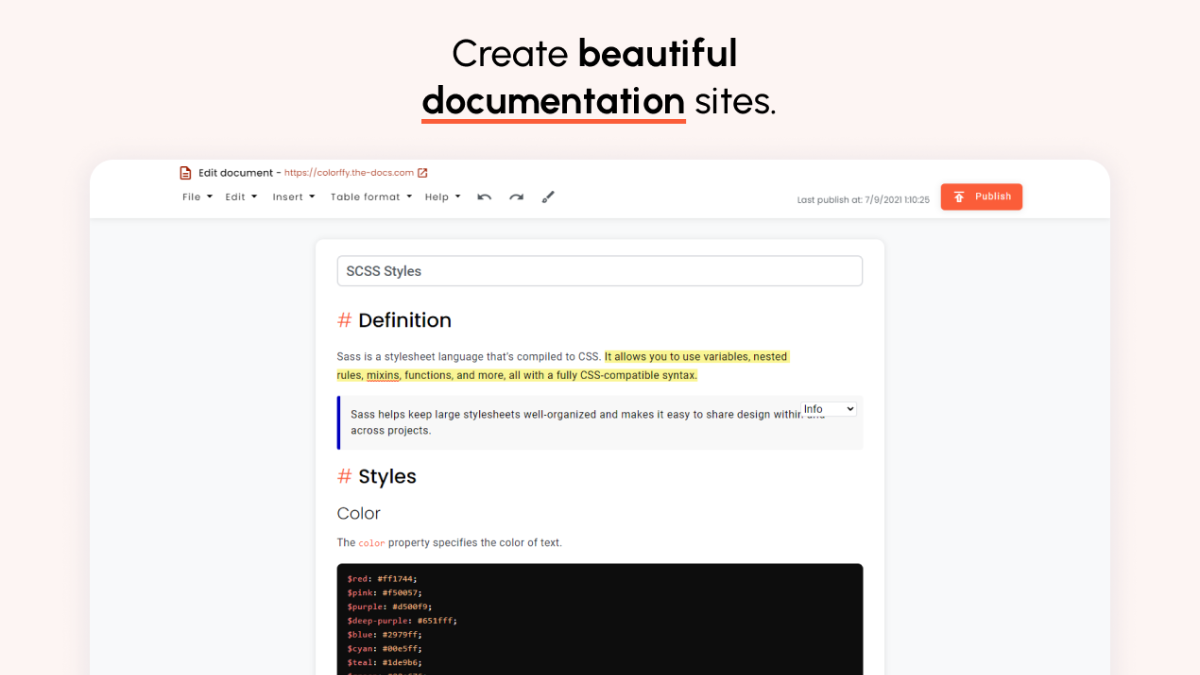 Projects : TheDocs : giangzadev